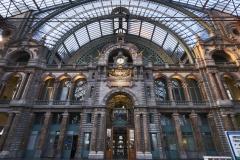 Antwerpen Bahnhof Fassade außen