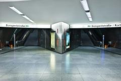 Bochum, U-Bahn-Station Rathaus 3x3