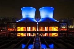 Bochum, Kühltürme  bei der Jahrhunderthalle #2