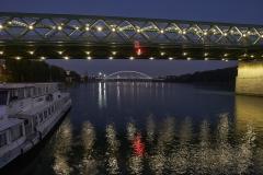 Brücken über der Donau