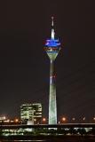 Düsseldorf, Medienhafen, Rheinturm #4