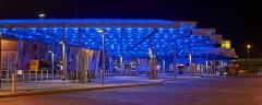 Essen, Busbahnhof in Steele