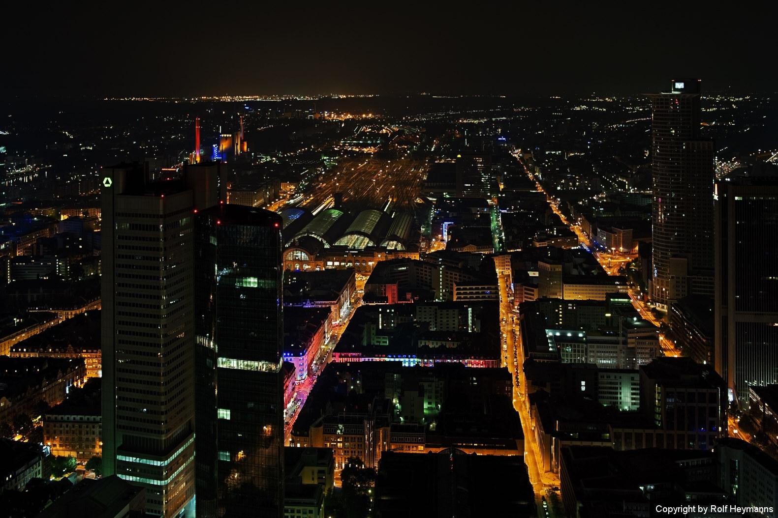 Frankfurt, Blick vom Maintower #4