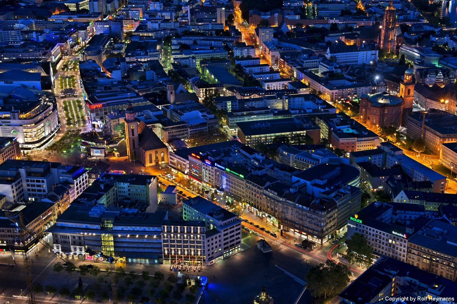 Frankfurt, Blick vom Maintower #3