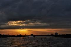 Sonnenuntergang in NRW