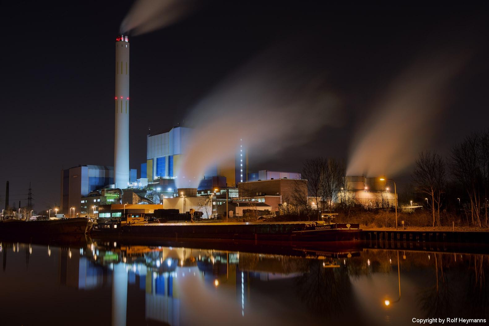 Oberhausen, Müllverbrennungsanlage 2