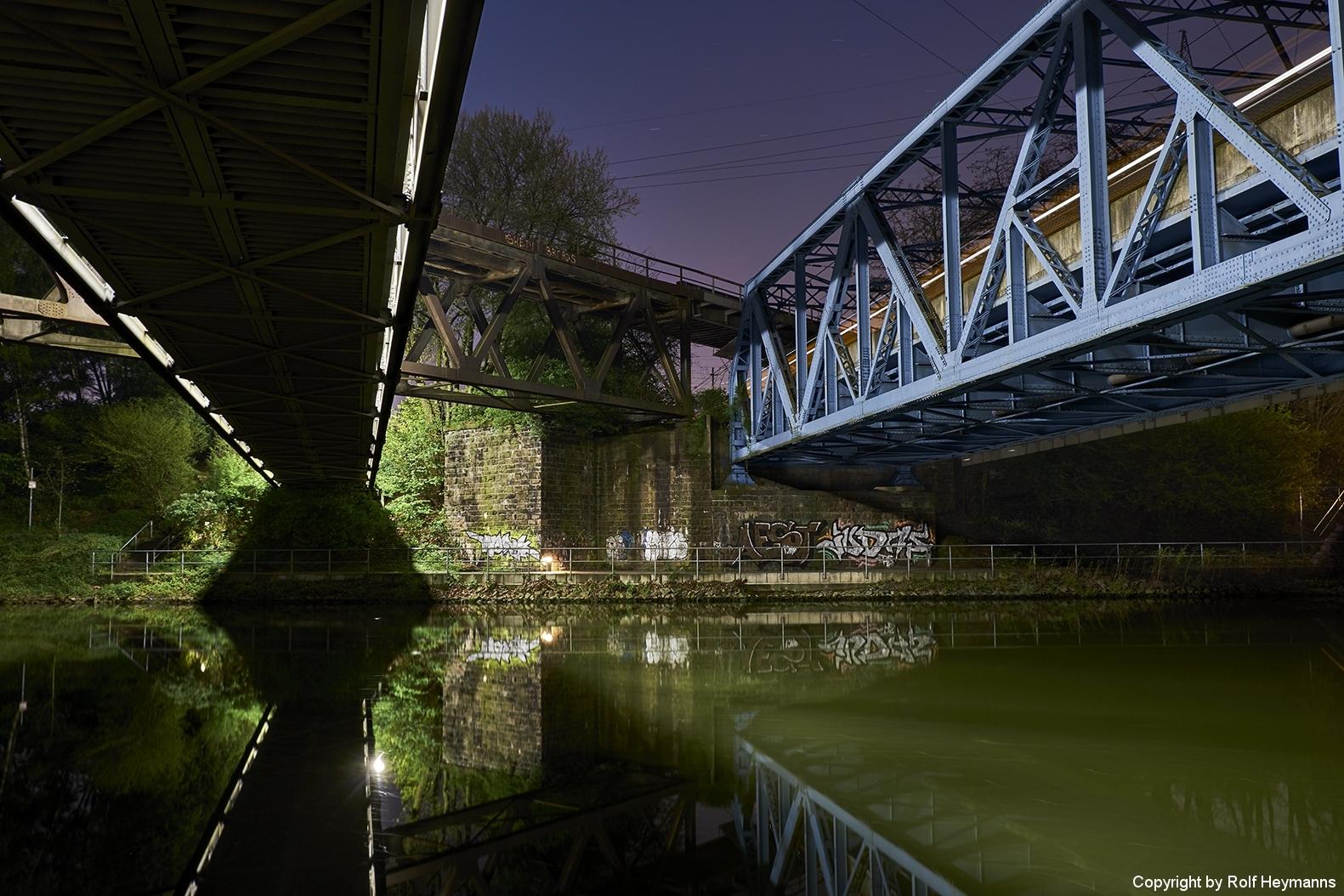 Brücken am Rhein-Herne-Kanal