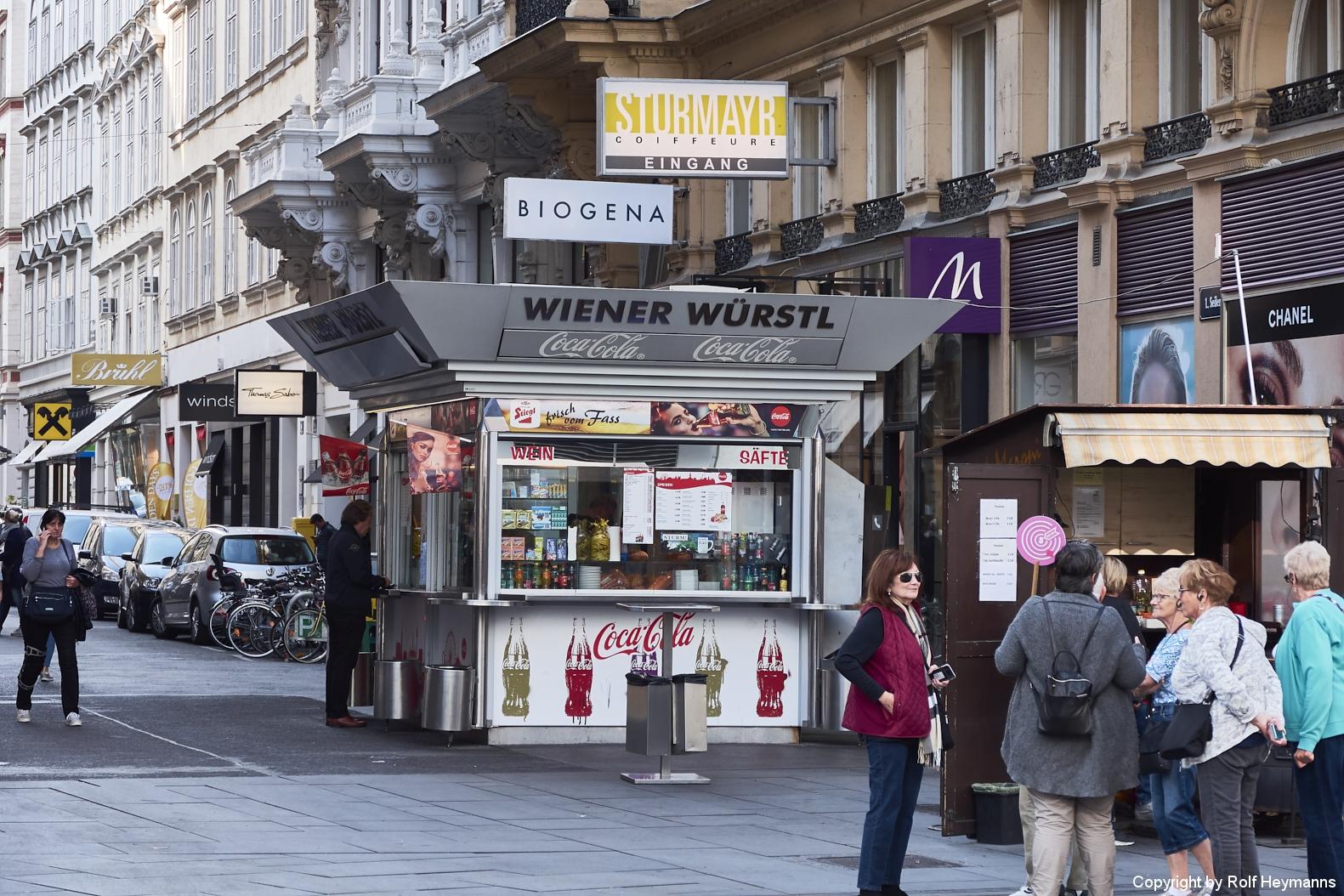Wien, Würstlstand
