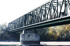 Donau, Eisenbrücke