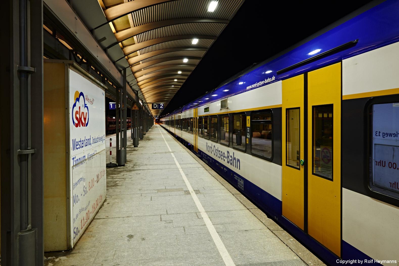 Westerland, Bahnsteig 2