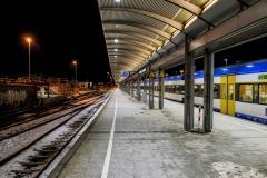 Westerland, Bahnsteig 1