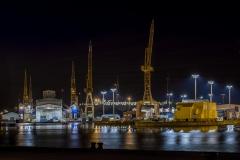 Im Hafen von Bremerhaven
